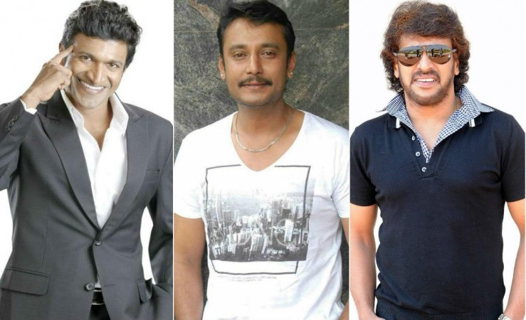 Puneeth Rajkumar, Darshan and Upendra