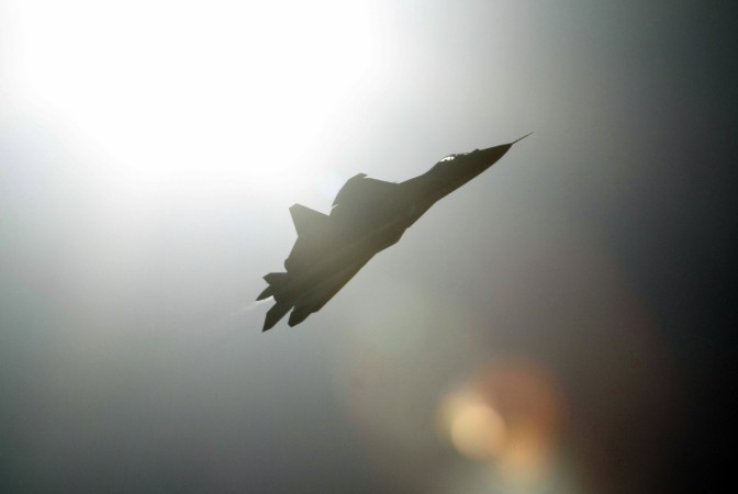 Sukhoi T-50 stealth fighter