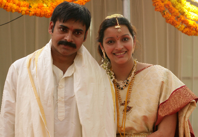 Renu Desai and Pawan Kalyan