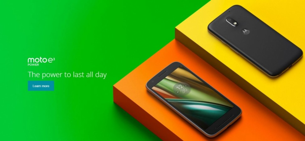 Moto E3 Power on sale via Flipkart: Five key features that will compel you to buy the new Motorola phone