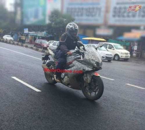 Benelli Tornado 302 spied testing in India for the first time