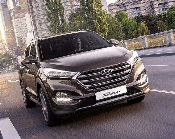 hyundai tucson india spec version likely to get android auto feature. Black Bedroom Furniture Sets. Home Design Ideas