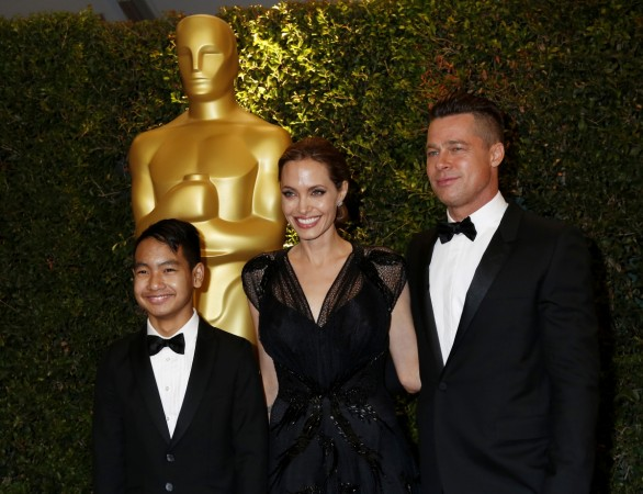 Brad Pitt and Angelina Jolie in 2013