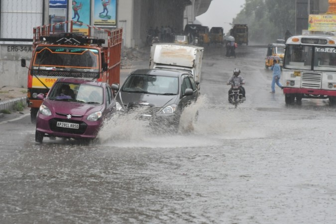 rains in hyderabad