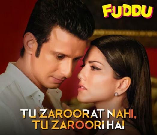 Sunny Leone and Sharman Joshi in Fuddu