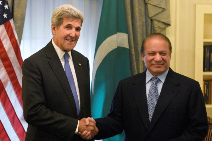 John Kerry and Nawaz Sharif.