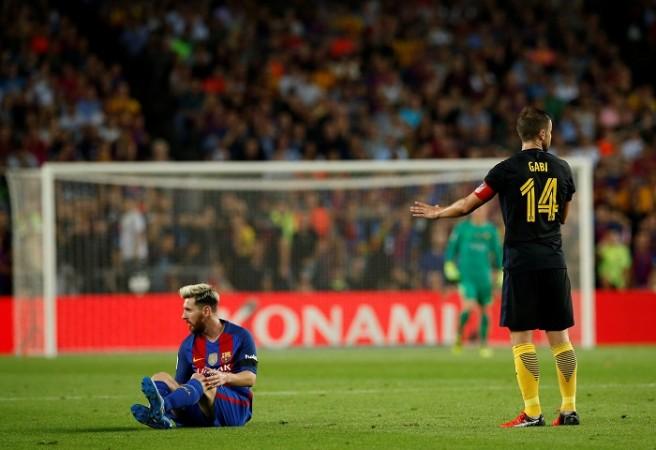 Lionel Messi Barcelona Atletico Madrid