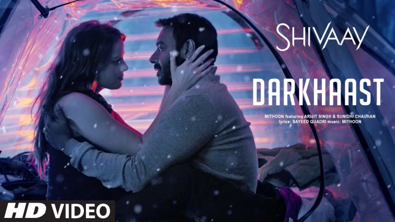 Ajay Devgn and Erika Kaar in Darkhaast song from Shivaay
