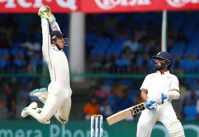BJ Watling Murali Vijay India New Zealand