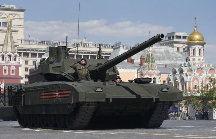 Armata tanks