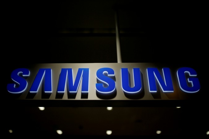 The logo of Samsung Electronics is seen at its headquarters in Seoul