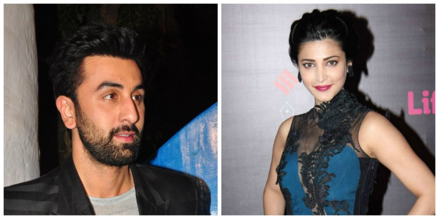 Ranbir Kapoor and Shruti Haasan