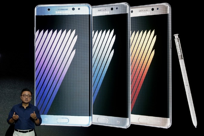 Launch ceremony for Samsung Galaxy Note 7 new smartphones in Seoul