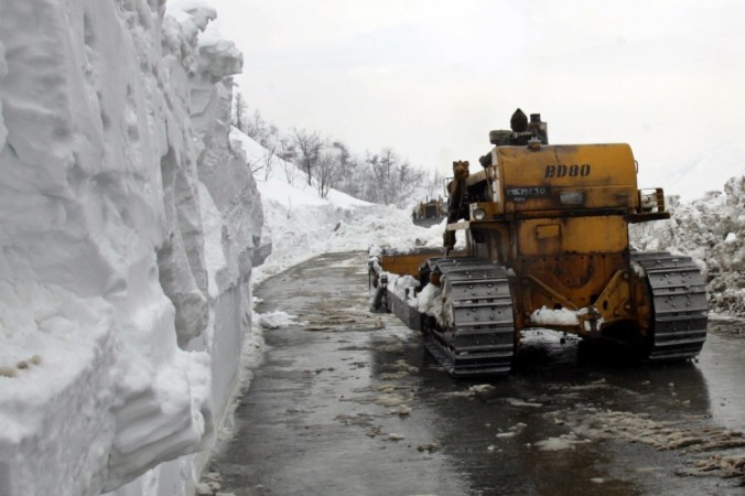 Strategic road construction affected in Kashmir Valley