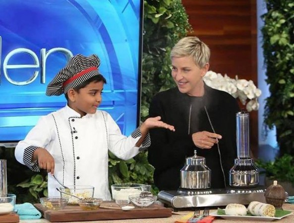 Kicha with Ellen DeGeneres
