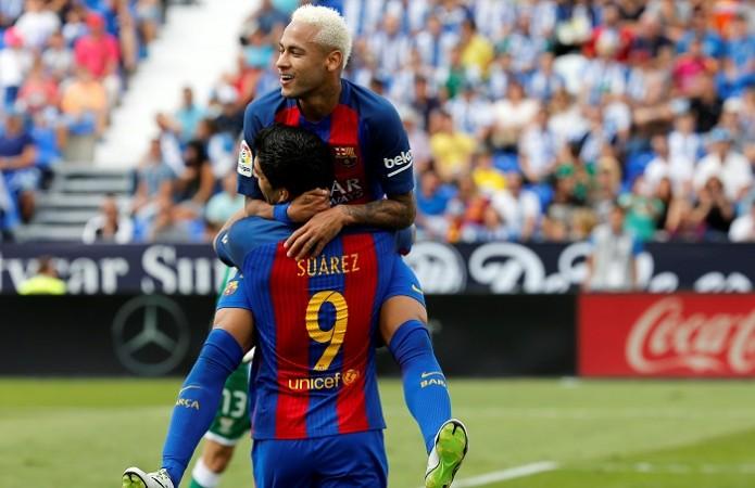 Neymar Luis Suarez Barcelona