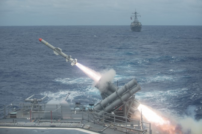 Harpoon missiles