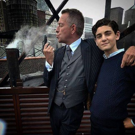 David Mazouz and Sean Pertwee