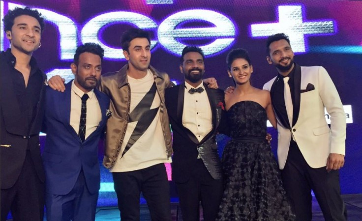 Dance Plus Season 2: Tanay Malhara declared winner; Ranbir Kapoor proposes to wrestler Sakshi Malik in grand finale. Pictured: Ranbir with judge Remo and mentors of Dance Plus 2