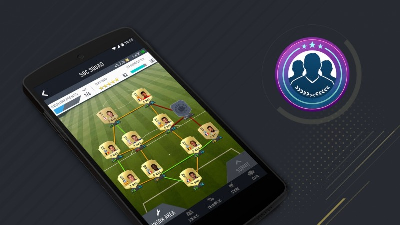 Fifa 17 Companion app now live in Google Play, comes with all new Squad Building feature