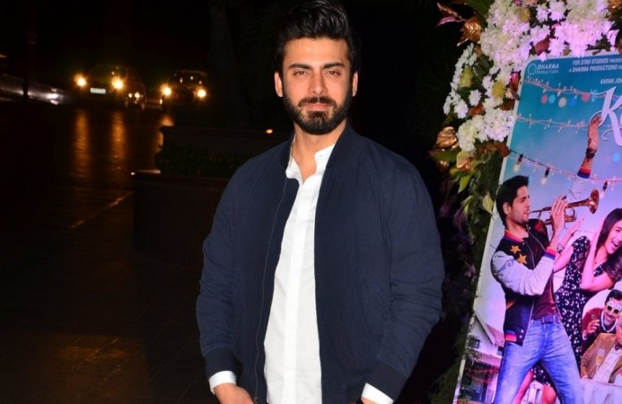 Fawad Khan not finalised for Salman Khan's production venture Jugalbandi. Pictured: Fawad Khan during the success party of Kapoor & Sons in Mumbai, 2016.