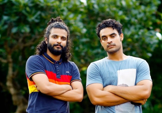 Neeraj Madhav and Tovino Thomas