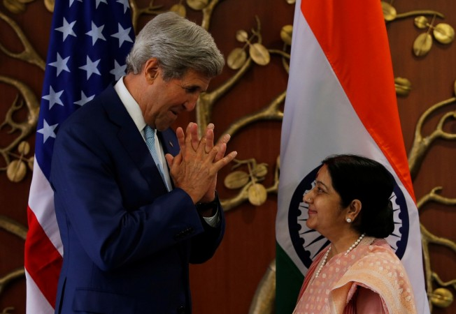 Indian Foreign Minister Sushma Swaraj
