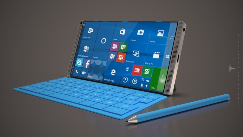 Microsoft Surface Phone appears in new concept images indicating an imminent launch