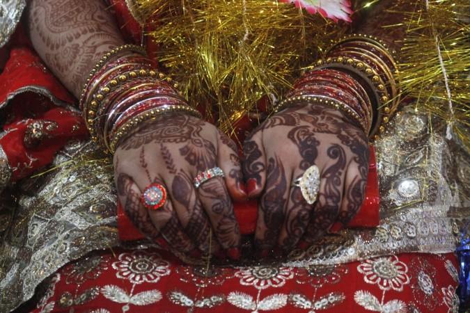 hindu bride in Pakistan