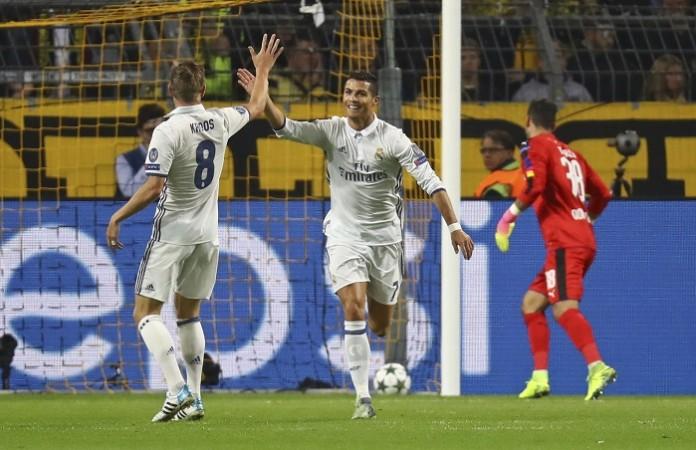 Cristiano Ronaldo Toni Kroos Real Madrid