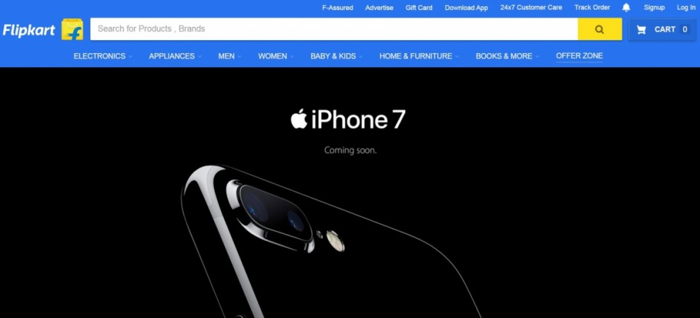 Flipkart to start Apple iPhone 7 pre-order service on September 29; price, specification details