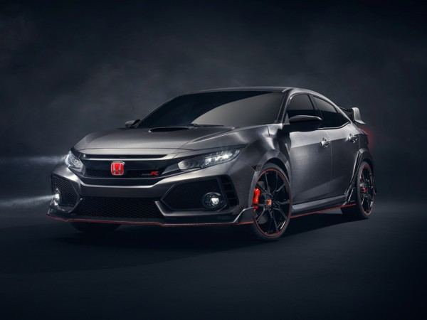 Honda Civic Type R Prototype revealed