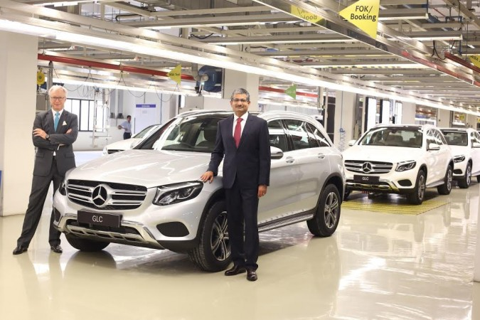 Made-in-India Mercedes-Benz GLC rolled out
