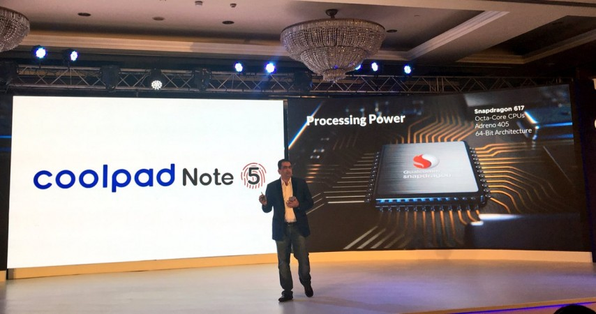Coolpad Note 5 with Snapdragon 617 SoC launches for Rs 10999