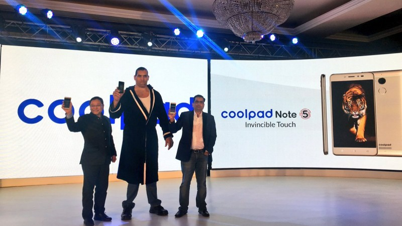 Coolpad Note 5 launch event is live