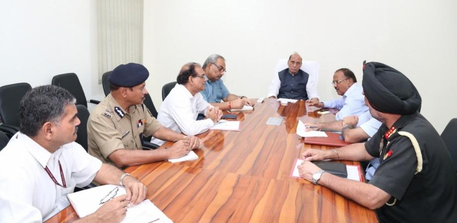 rajnath singh security meeting