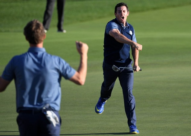 Rory McIlroy Ryder Cup 2016