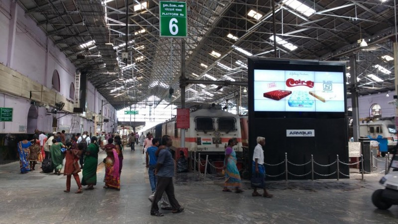 travel insurance irctc chennai station passengers growth travel policy growth indian railways