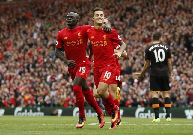 Liverpool Sadio Mane Philippe Coutinho