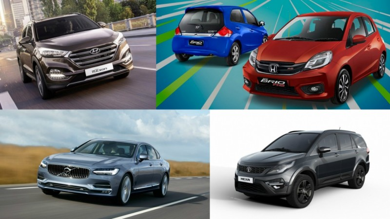 Cars launching in October 2016