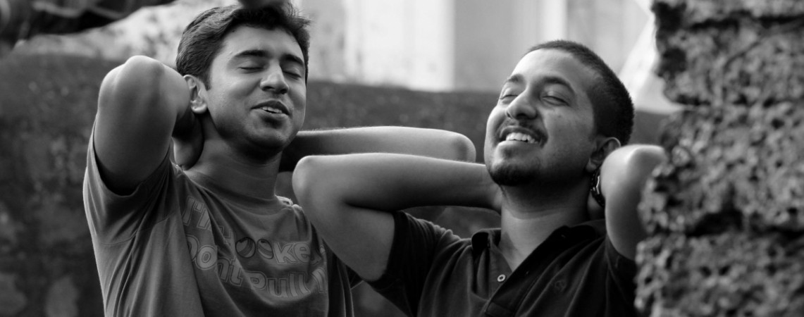 Nivin Pauly and Vineeth Sreenivasan