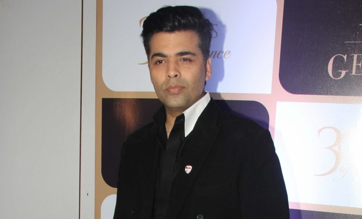 Karan recently shot for the promo of Koffee With Karan 5. Pictured: Karan Johar