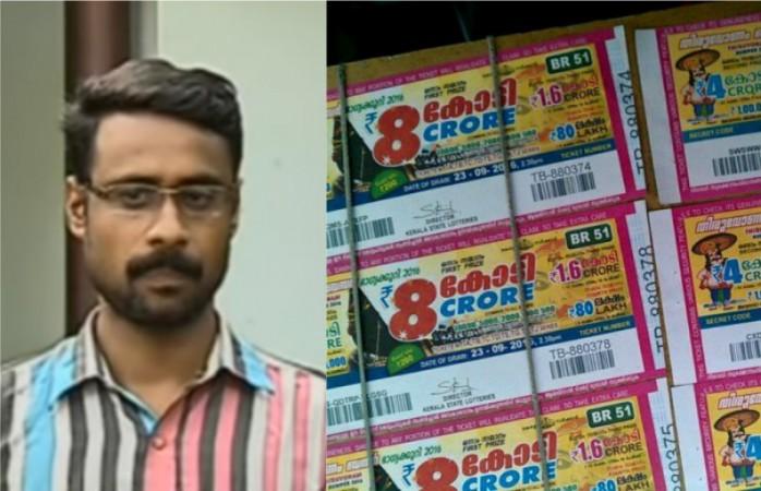 Onam Bumper Lottery winner Ganesh