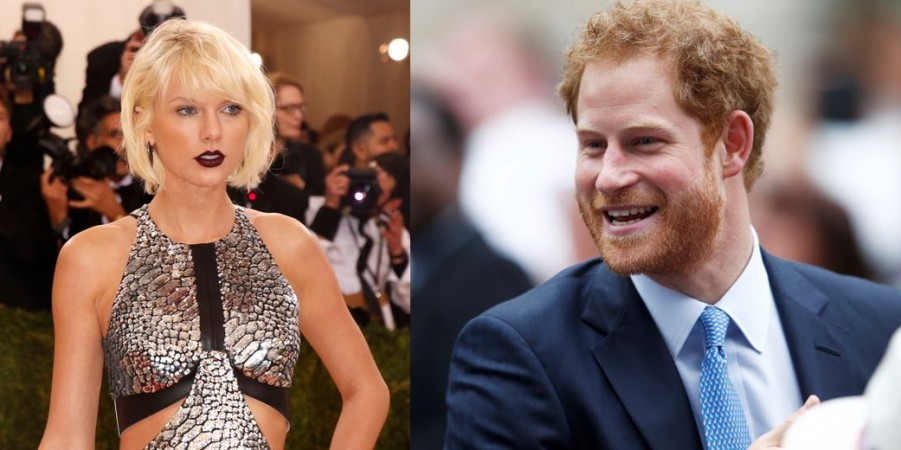 Taylor Swift and Prince Harry