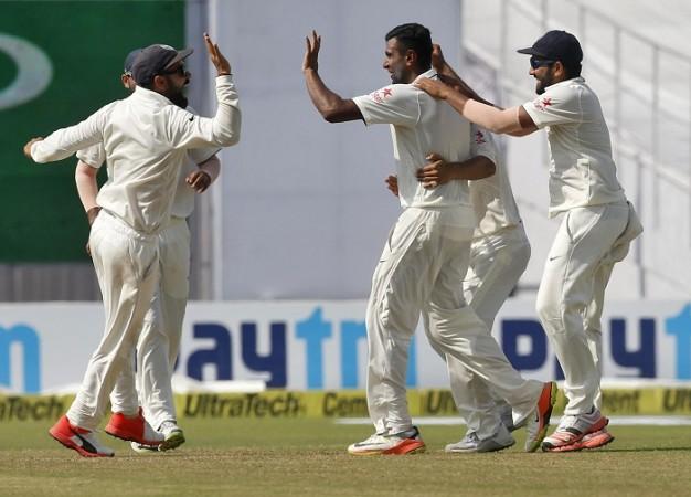 R Ashwin India Kohli New Zealand