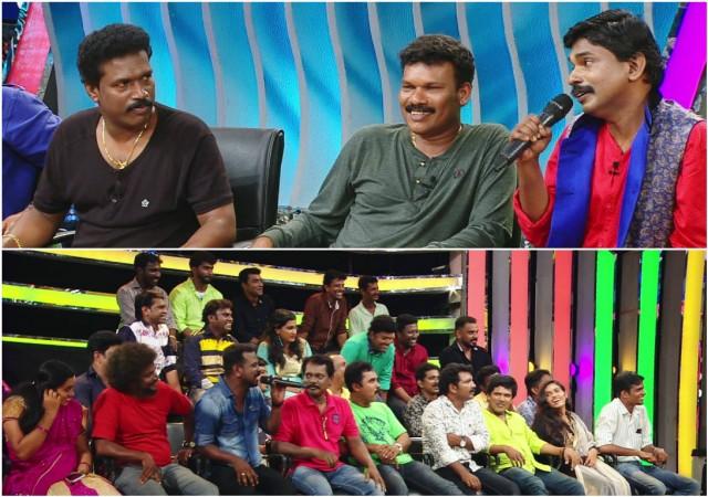 Santhosh Pandit vs Mimicry artistes in Sreekandan Nair Show