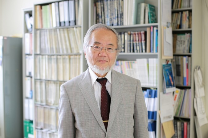 Yoshinori Ohsumi, a professor in Tokyo Institute of Technology, was awarded the 2016 Nobel Prize in Physiology or Medicine