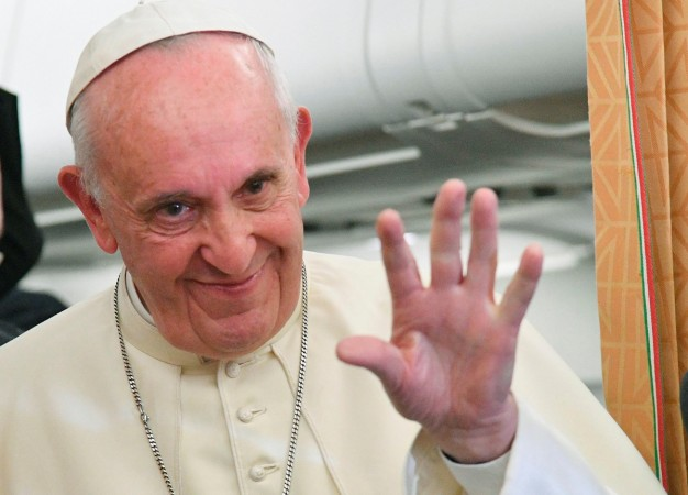 Pope Francis reaffirmed his disagreement with teaching gender identity in schools on Sunday, October 2.