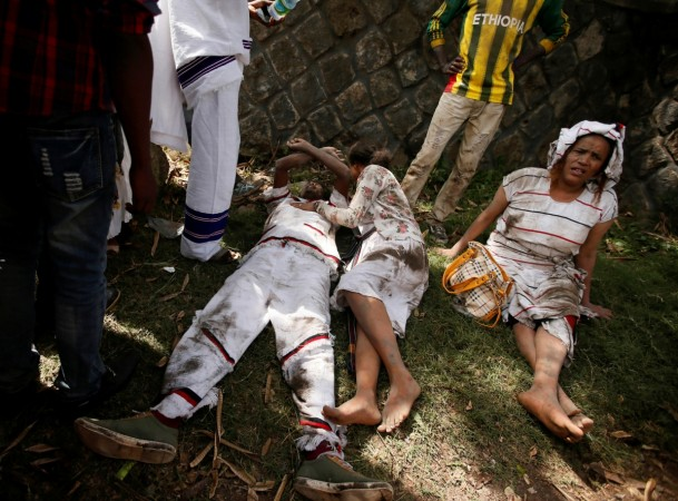 Ethiopia stampede: 52 people die during anti-government ...