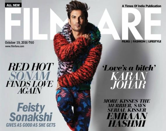 Sushant Singh Rajput on Filmfare Magazine
